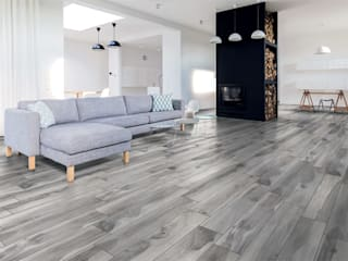Woof Effect Floor Tiles par Target Tiles Moderne