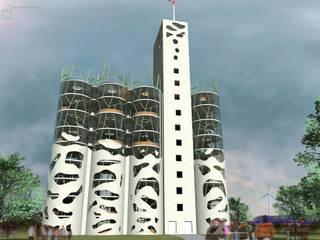 Ferme Vivante Centre d'expositions modernes par BOIRARD Moderne