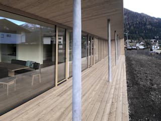 Modern Terrace by BESTO ZT GMBH_ Architekt DI Bernhard Stoehr Modern