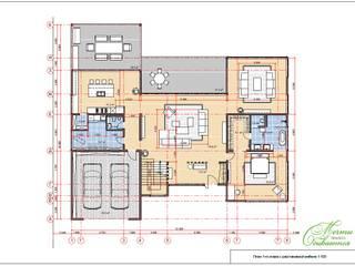 Mediterranean style house by Компания архитекторов Латышевых 'Мечты сбываются' Mediterranean
