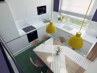 Modern kitchen by Ksenia Konovalova Design Modern Wood Wood effect