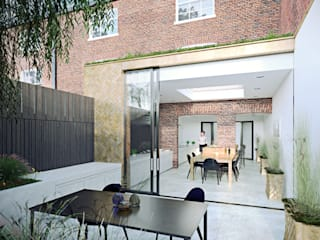 Listed Building Extension Casas de estilo moderno de ON architecture Moderno