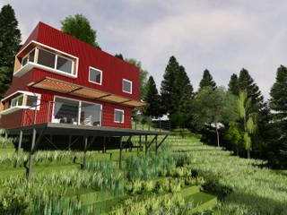 REFUGIO LR Casas estilo moderno: ideas, arquitectura e imágenes de EjeSuR Arquitectura Moderno