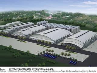 โครงสร้างเหล็กสำเร็จรูป: ด้านอุตสาหกรรม  โดย PENNA, อินดัสเตรียล