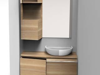 Salle de bain par A. Lacker - Woodtrack Minimaliste