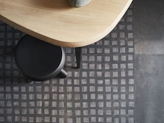 BITS & PIECES Pareti & Pavimenti in stile moderno di Ceramiche Addeo Moderno