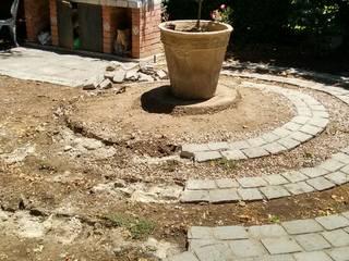 Remodelación jardín:  de estilo  por Construcciónes J&r