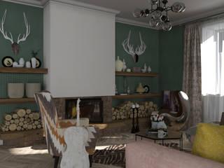 Сокровища Агры: Гостиная в . Автор – Interika
