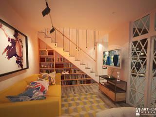 Арт-лайн дизайн Dormitorios de estilo clásico