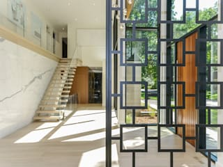 Modern Corridor, Hallway and Staircase by Flynn Architect Modern
