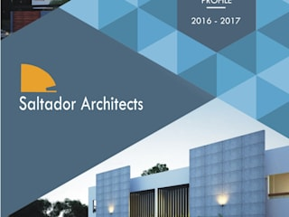 Company Profile 2016-17 Modern houses by Saltador Architects Modern