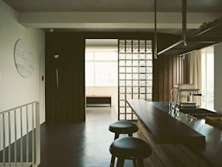 Nhà bếp by 鄭士傑室內設計