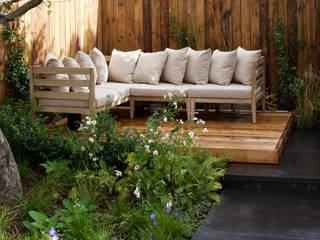 Jardines de estilo  de Tom Massey Landscape & Garden Design, Moderno