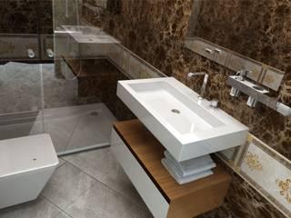 DO DESIGN – ÇEŞME VİLLA PROJESİ :  tarz Banyo
