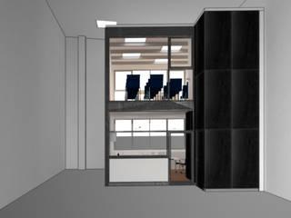 Espacio de oficinas Oficinas y tiendas de estilo industrial de MAGA - Diseño de Interiores Industrial