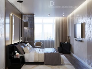Minimalist bedroom by Студия дизайна Interior Design IDEAS Minimalist