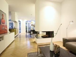 Modern living room by Boldt Innenausbau GmbH - Tischlerei & Raumkonzepte Modern