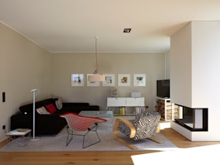 Haus MF Moderne Wohnzimmer von Lioba Schneider Modern