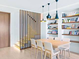 Blanca & Matteo House. Esporlas, Mallorca Comedores de estilo mediterráneo de JAIME SALVÁ, Arquitectura & Interiorismo Mediterráneo
