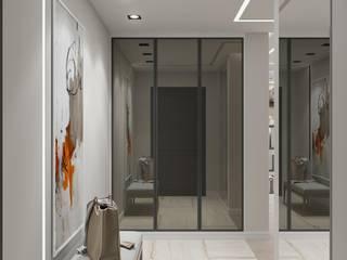 Квартира по ул. Зорге, г. Уфа: Коридор и прихожая в . Автор – Студия авторского дизайна ASHE Home