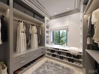 更衣室 by Студия авторского дизайна ASHE Home