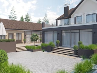 Casas modernas de Студия авторского дизайна ASHE Home Moderno