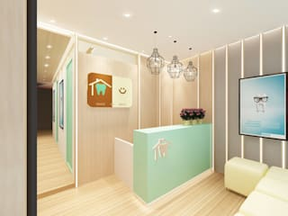 Reception Area:   by GAMBIT DESIGN CO.,LTD