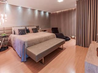 Habitaciones de estilo  por Das Haus Interiores - by Sueli Leite & Eliana Freitas