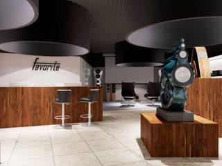 ФАВОРИТ Офисы и магазины в стиле минимализм от Вероника Строганова Минимализм