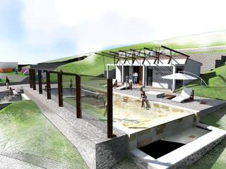 Landelijke zwembaden van Paz Ingenieros & Arquitectos Landelijk