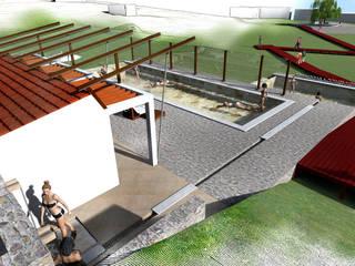Piscinas campestres por Paz Ingenieros & Arquitectos Campestre