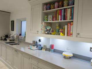 Handmade Grey Bespoke Kitchen :  Kitchen by Debenvale