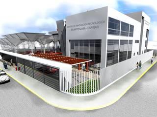 Modern conservatory by Paz Ingenieros & Arquitectos Modern