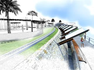 Piscinas modernas por Paz Ingenieros & Arquitectos Moderno