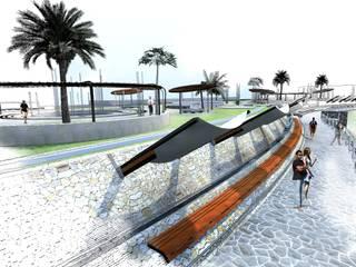Modern pool by Paz Ingenieros & Arquitectos Modern