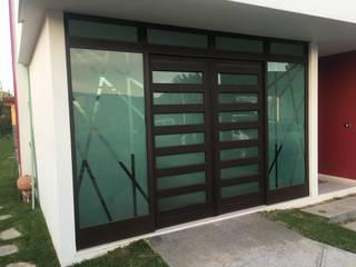 CASA PZ ARQUIMIA ARQUITECTOS Puertas y ventanas modernas de Arquimia Arquitectos Moderno