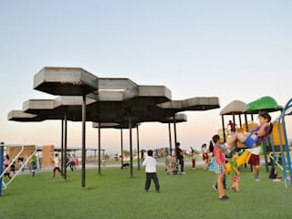 Jardines de estilo moderno de TABB Architecture Moderno