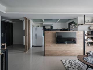 Living room by 你你空間設計, Scandinavian