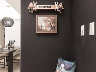 Corridor & hallway by 你你空間設計, Scandinavian