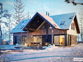 Pracownia Projektowa ARCHIPELAG Casas modernas: Ideas, imágenes y decoración