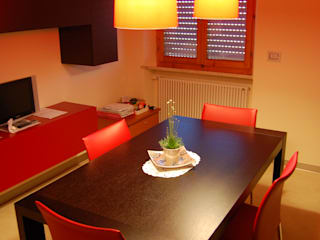 Ruang Makan Modern Oleh Calabrese & Iozzi Architetti Associati Modern