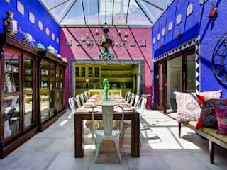 Mexican Breakfast Conservatory: colonial Conservatory by W Cubed Interior Design