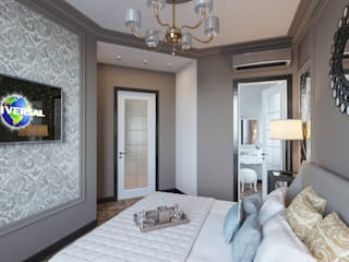 Квартира семейной пары: Спальни в . Автор – Ассоциация IDA