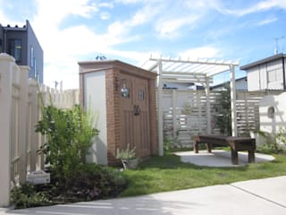 Eclectic style garden by エクステリアモミの木 | エクステリア&ガーデンデザイン専門店 Eclectic