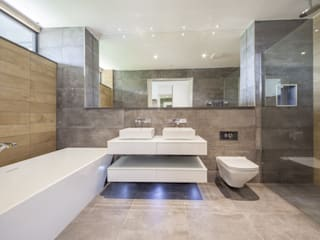 Wick Lane, Christchurch. Modern bathroom by Jigsaw Interior Architecture Modern