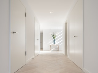 Wick Lane, Christchurch. Modern Corridor, Hallway and Staircase by Jigsaw Interior Architecture Modern