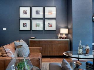 Musewll Hill, London Salas de estilo ecléctico de Jigsaw Interior Architecture Ecléctico