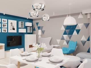 Modern Oturma Odası Ale design Grzegorz Grzywacz Modern