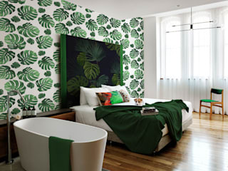 UNDER THE PALM LEAF Pixers BedroomAccessories & decoration
