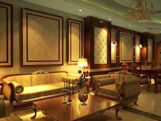 Classic style living room by القصر للدهانات والديكور Classic
